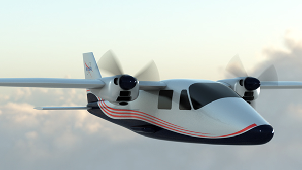 Nasa's First Electric Aircraft Maxwell X-57 With 14 Motor