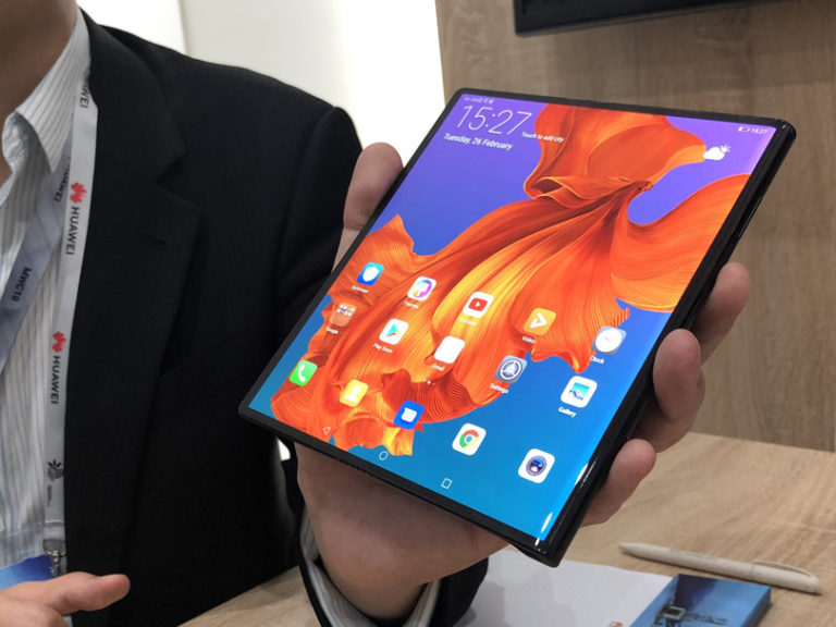 Huawei Foldable Mate X at MWC 2020 :CEO Richar Yu has shared information