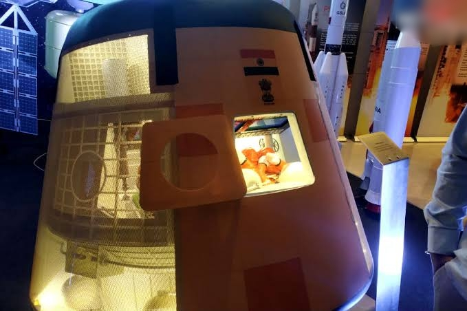 Look inside ISRO's space Capsule Prototype that will carry with them a half-humanoid