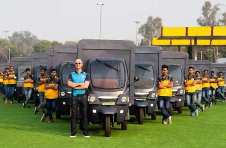 Amazon CEO Rolls Out 10,000 Electric delivery-rickshaws in India soon